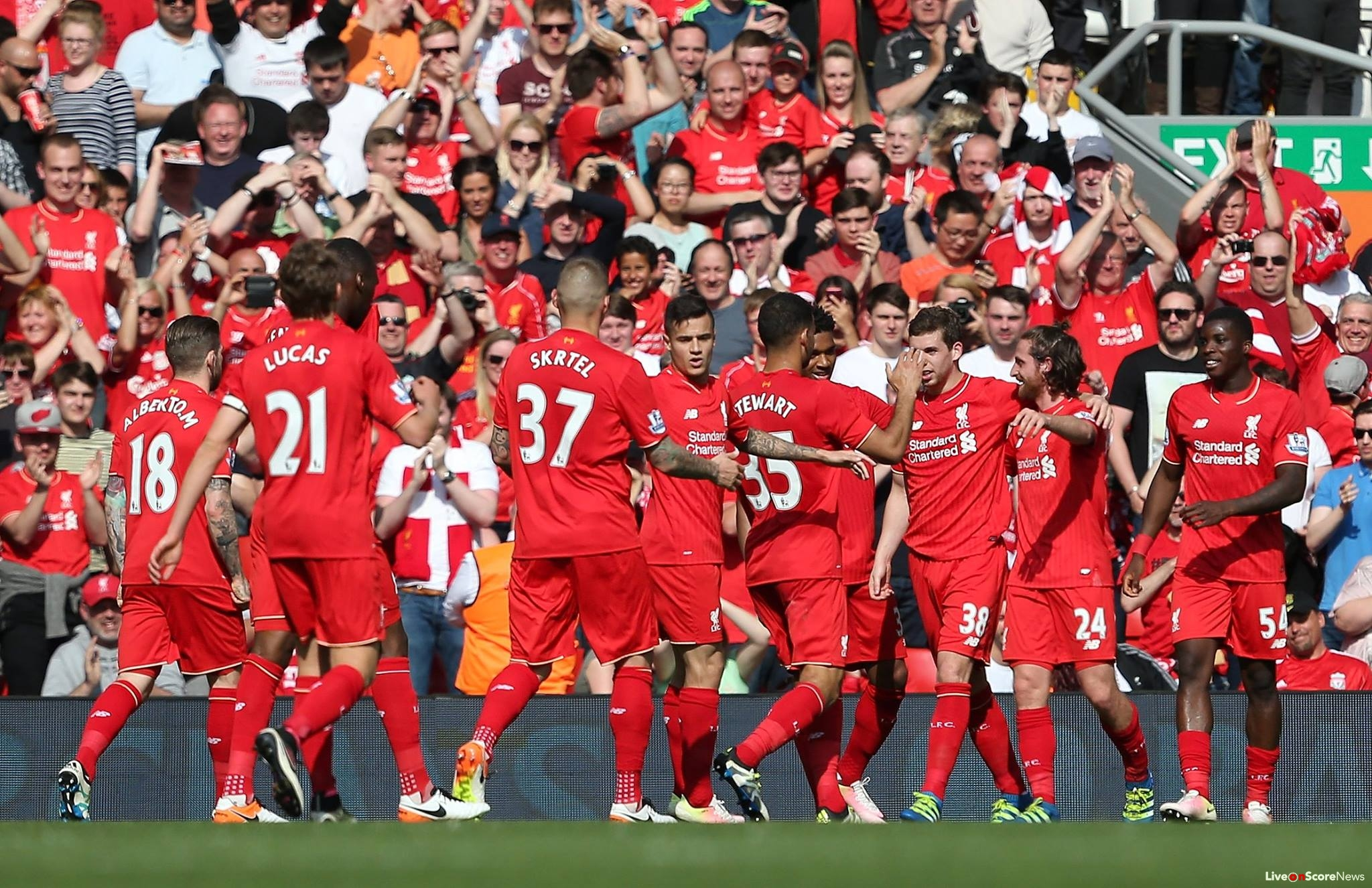 Liverpool's march on with comfortable win