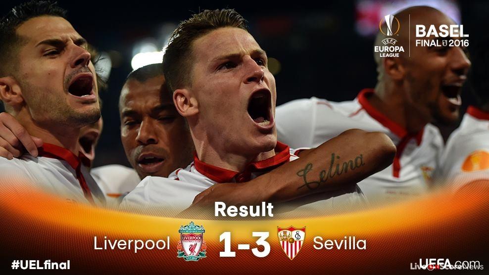 Liverpool FC 1 - 3 Sevilla FC Highlight Video (2)