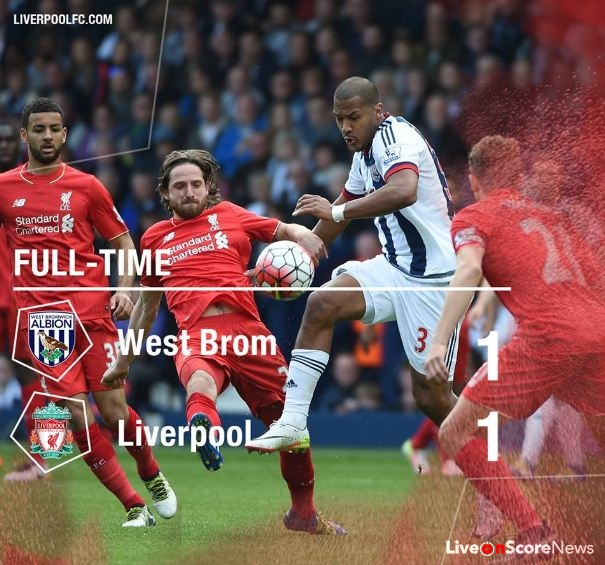 West Bromwich Albion 1 - 1 Liverpool Highlight Video