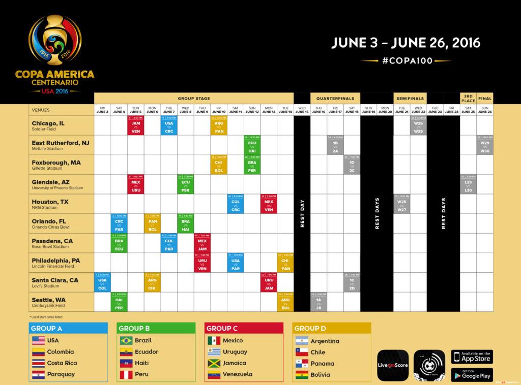 COPA_America_2016_Schedule