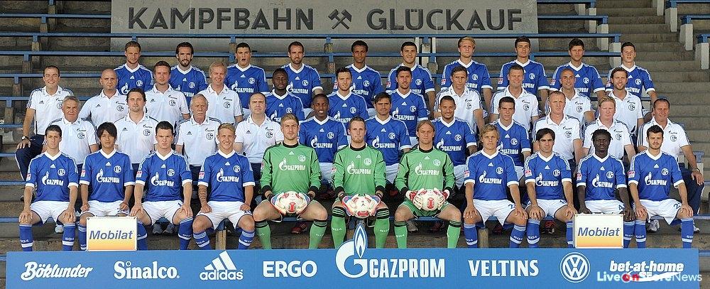 FC Schalke 04 - Mannschaftsfoto