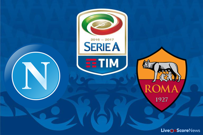 Image result for Napoli vs AS Roma