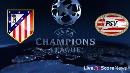 Atletico Madrid vs PSV Eindhoven- Preview and Prediction. LiveonScore News;  22/11/2016. Atletico Madrid vs PSV ...