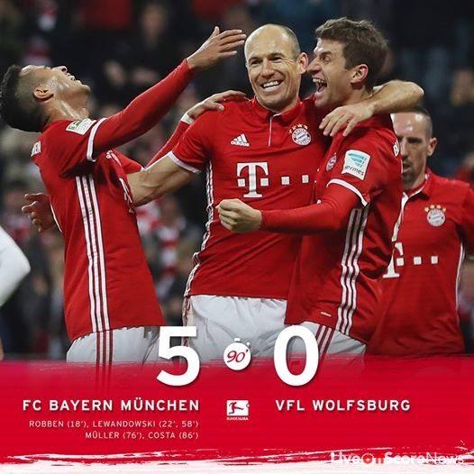 Bayern Wolfsburg 5 0