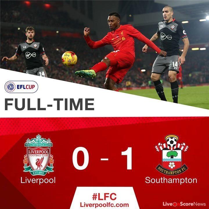 Liverpool 0 - 1 Southampton Highlight Video