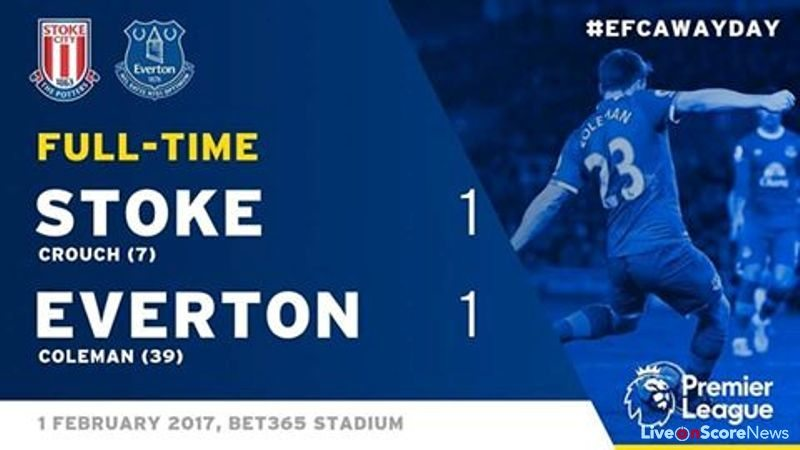 Stoke City 1 – 1 Everton Highlight Video