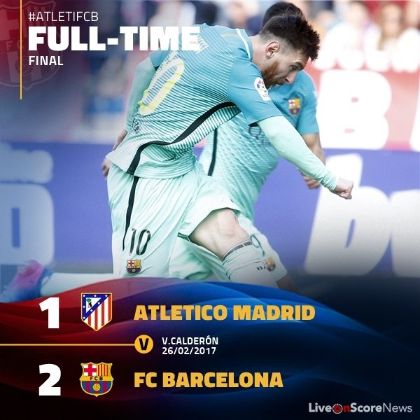 atletico madrid barcelona highlights
