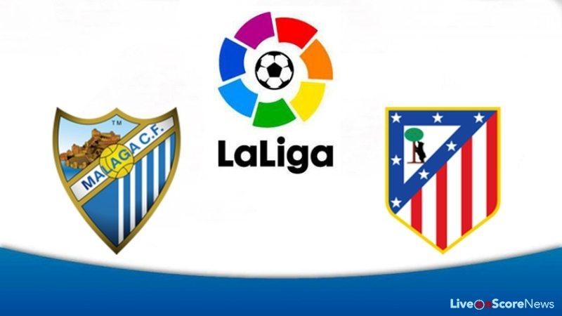 Image result for Malaga vs Atletico Madrid