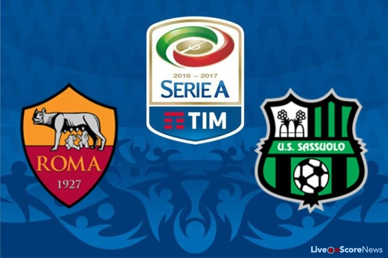 Image result for roma vs sassuolo
