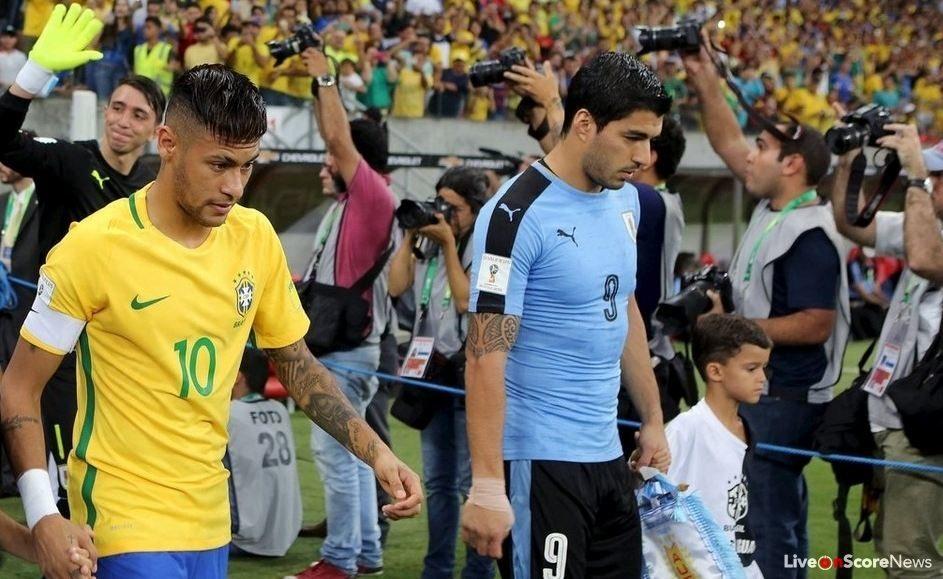 Image result for uruguay vs brazil