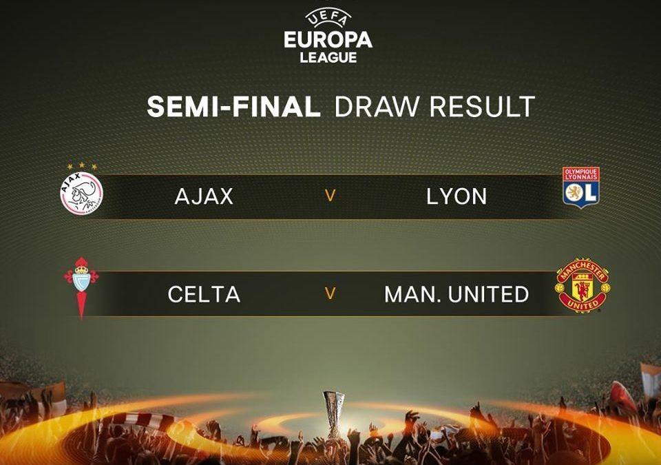 The Official Result of Uefa Europa League Semi-final draw