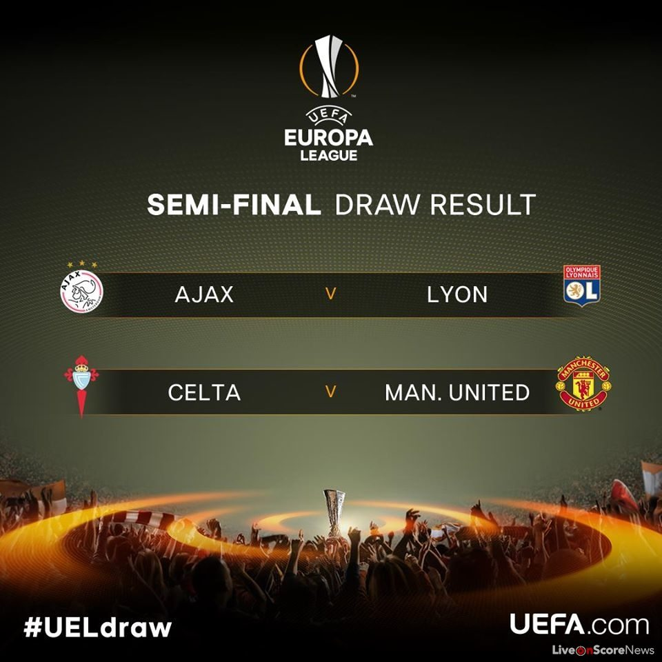 The Official Result of Uefa Europa League Semi-final draw ...