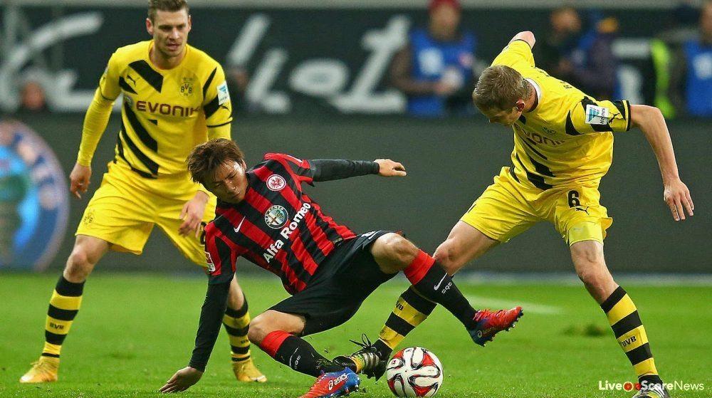 Dortmund Vs Eintracht Frankfurt