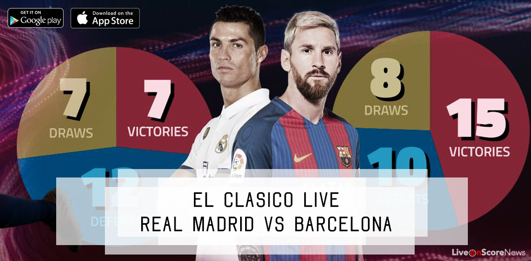 Watch el Clásico Livestream via Sport Live TV App - Real