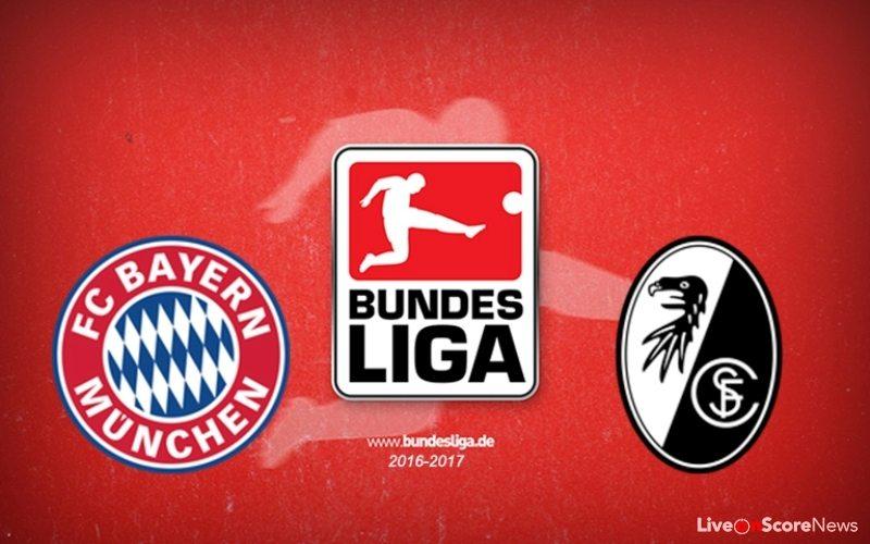 Bayern Munich vs Freiburg Preview and Prediction Live stream Bundesliga 2017