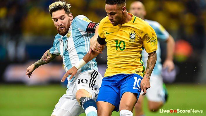 Image result for Brazil vs Argentina 2017 live pic logo