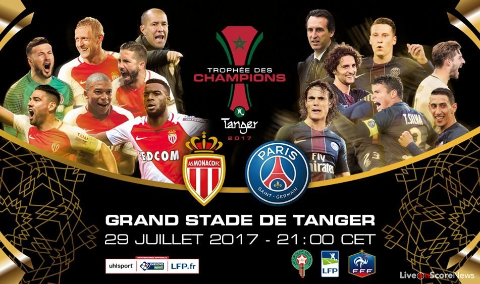 monaco vs paris sg preview and prediction live stream france super cup. Black Bedroom Furniture Sets. Home Design Ideas