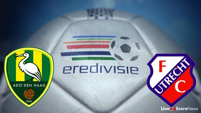 Preview ea Den Haag vs FC Utrecht le Prediction Live Stream Netherlands -  Eredivisie 2017-2018 | LiveonScore.com