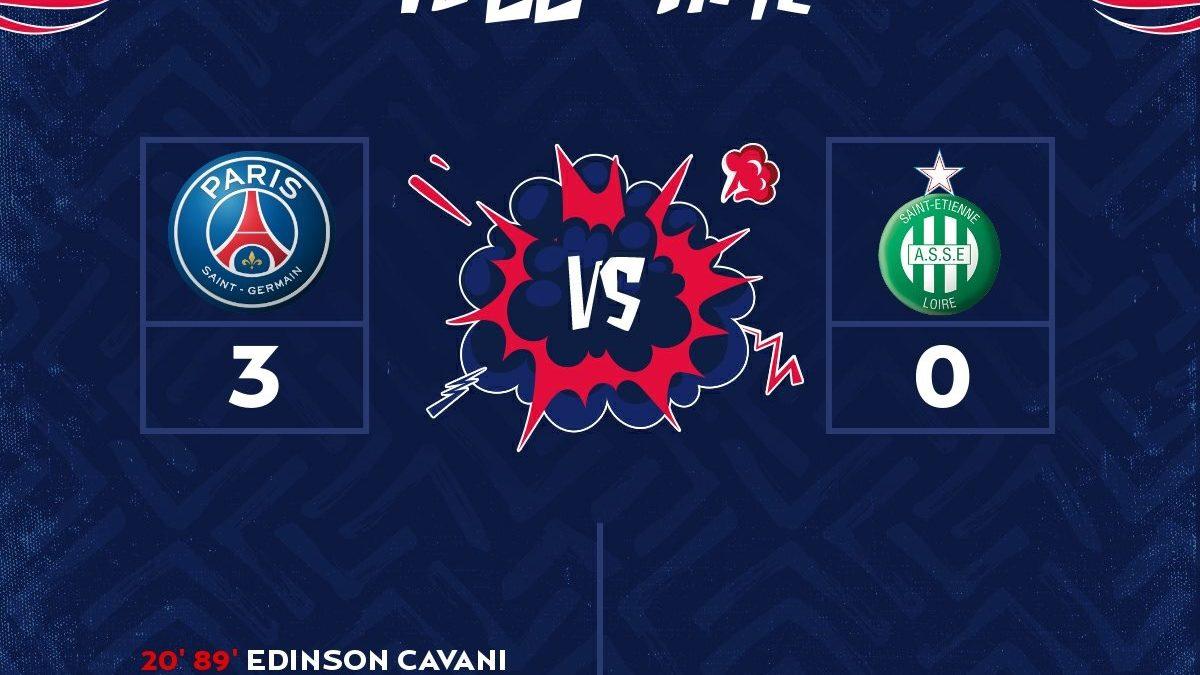 Calendrier L1 Psg.Paris Saint Germain 3 0 Saint Etienne Highlights France