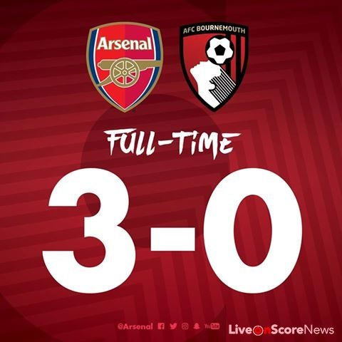 Arsenal 3-0 AFC Bournemouth Full Highlights-Premier League 2017-2018