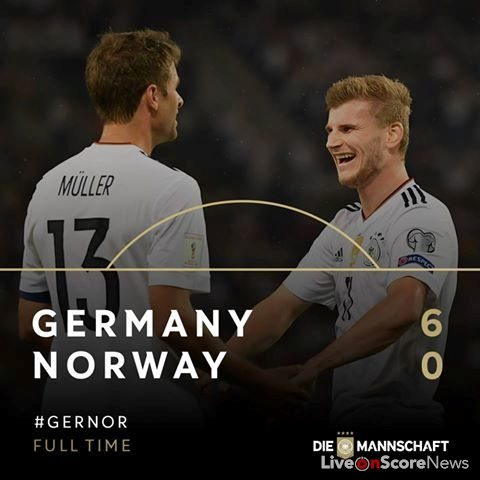 Germany 6 – 0 Norway Full Highlights-FIFA World Cup 2018 Qualification