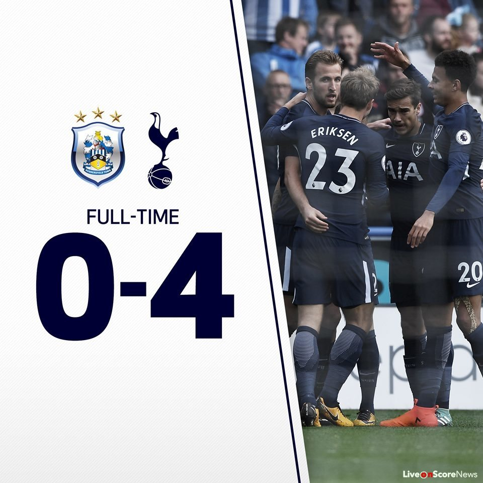 Tottenham Vs Ajax Results: Huddersfield Town 0-4 Tottenham Hotspur Full Highlights
