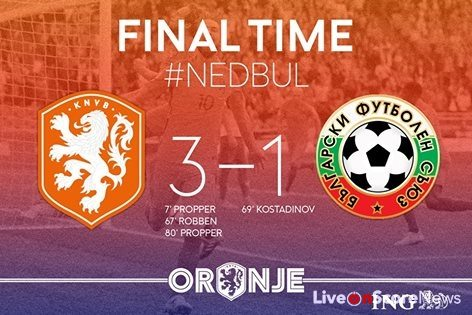 Netherlands 3-1 Bulgaria Full Highlights-FIFA World Cup 2018 Qualification
