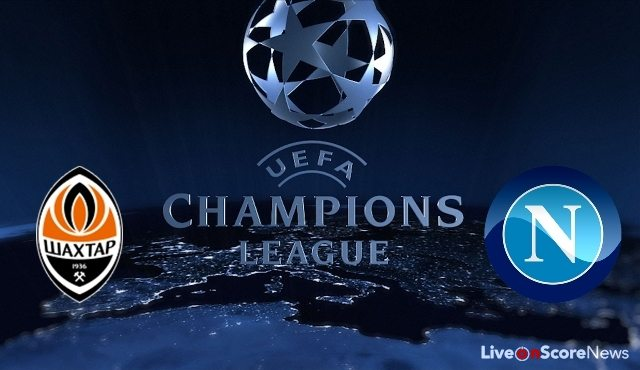 Shakhtar Donetsk vs SSC Napoli Preview and Prediction Live stream UCL 2017-2018