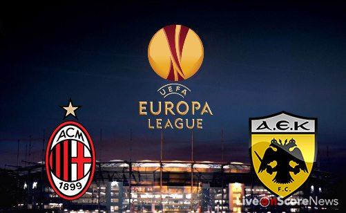 Assistir Milan x AEK Atenas ao vivo grátis em HD 18/10/2017