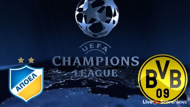 APOEL Nicosia vs Borussia Dortmund Preview and Prediction Live stream UCL 2017-2018