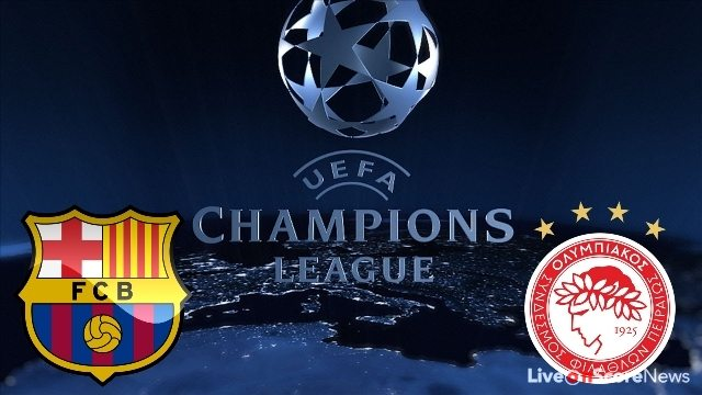 Barcelona vs Olympiacos Preview and Prediction Live stream UCL 2017-2018