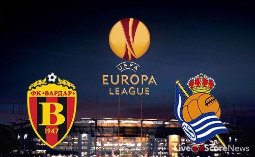 FK Vardar Skopje vs Real Sociedad Preview and Prediction Live stream UEL 2017-2018