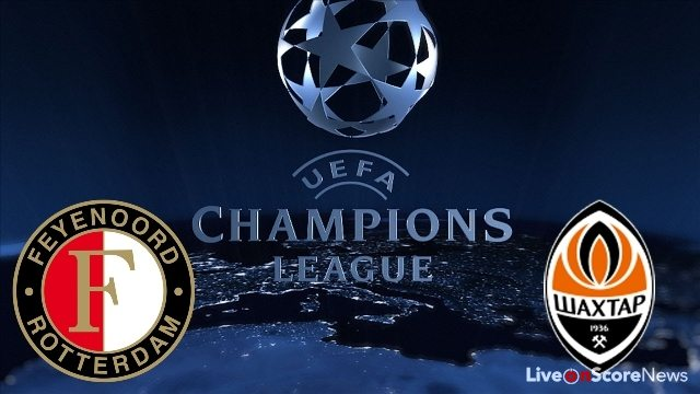 Feyenoord vs Shakhtar Donetsk Preview and Prediction Live stream UCL 2017-2018