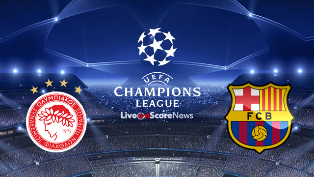 Olympiacos Vs Barcelona Preview And Prediction Live Stream Ucl 2017 2018