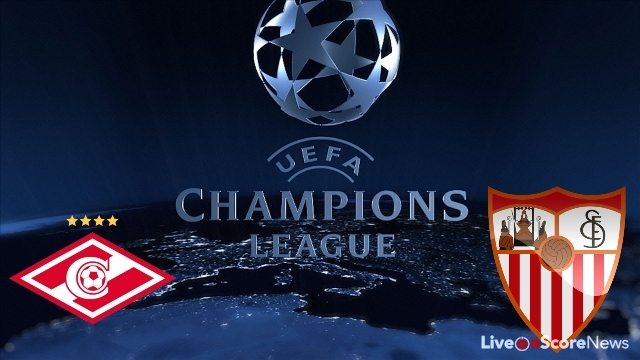 Spartak Moscow vs Sevilla Preview and Prediction Live stream UCL 2017-2018