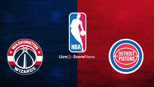 Washington Wizards vs Detroit Pistons Preview and Prediction Live stream NBA 2017-2018