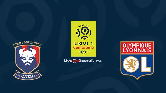 Image result for Caen vs Lyon