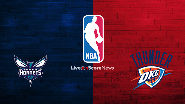Charlotte Hornets vs Oklahoma City Thunder Preview and Prediction Live stream NBA 2018