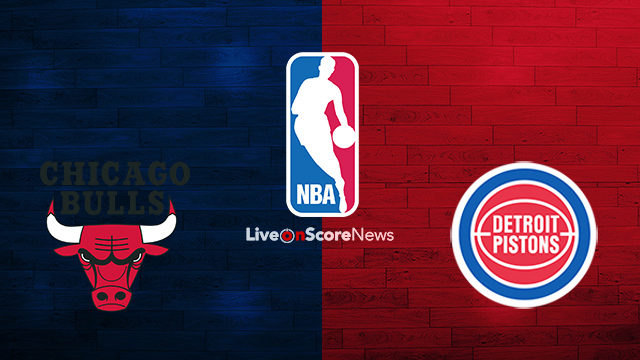 Chicago Bulls vs Detroit Pistons Preview and Prediction Live stream NBA 2018