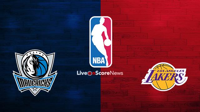 Dallas Mavericks vs Los Angeles Lakers Preview and Prediction Live stream NBA 2018