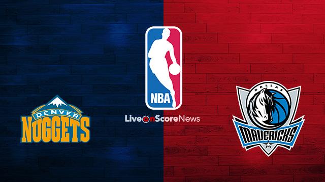 Denver Nuggets vs Dallas Mavericks Preview and Prediction Live stream NBA 2018