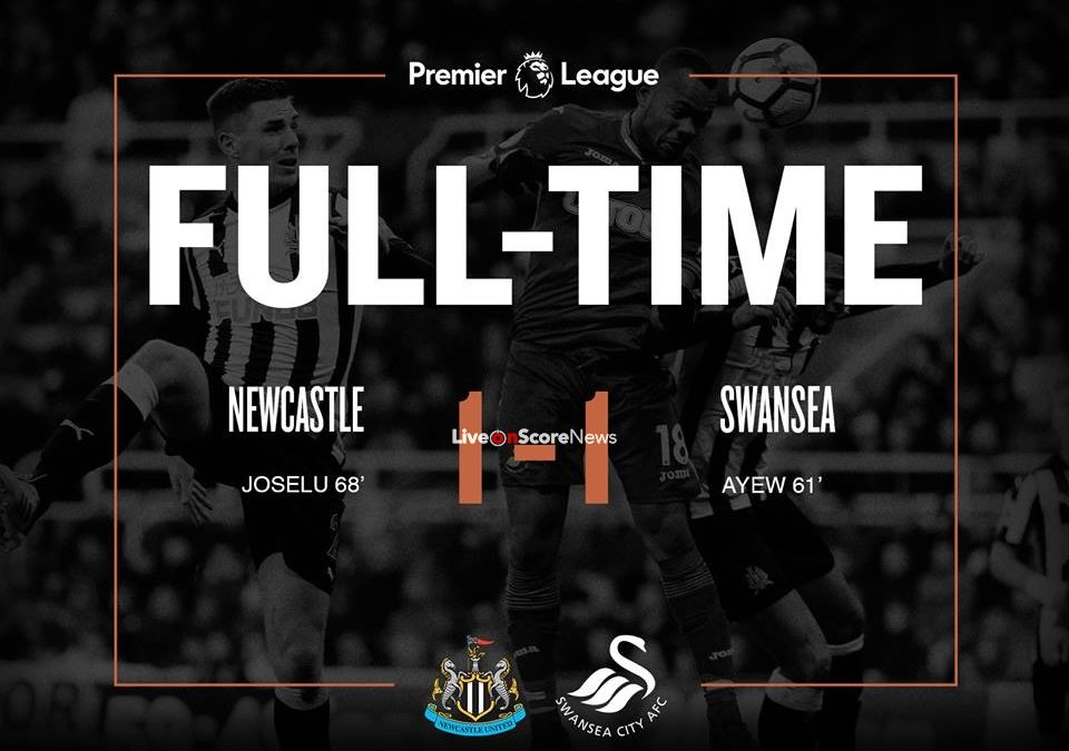 Newcastle United 1-1 Swansea City Full Highlights Premier League 2018