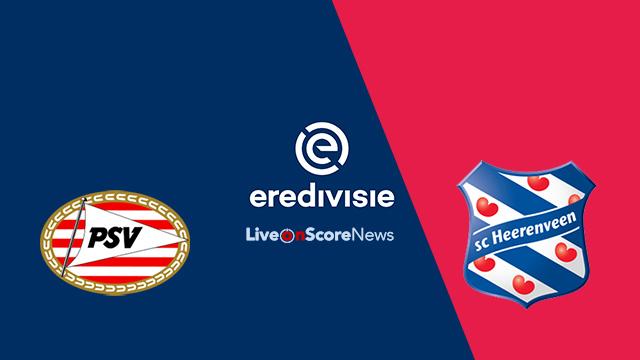 Image result for PSV Eindhoven vs SC Heerenveen