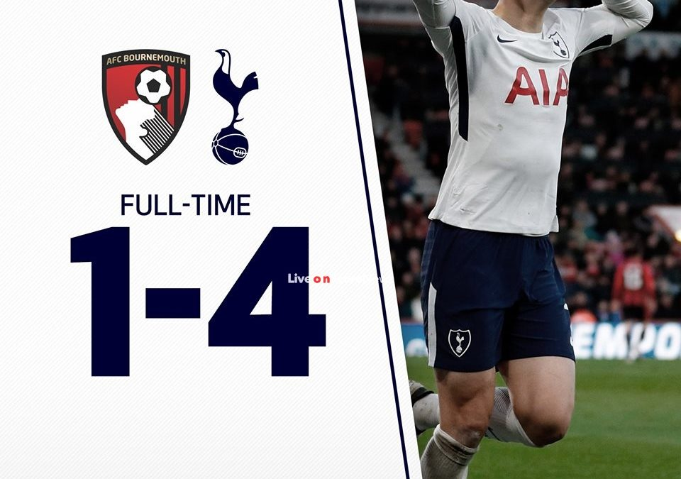 AFC Bournemouth 1-4 Tottenham Hotspur Full Highlight Video Premier League 2018