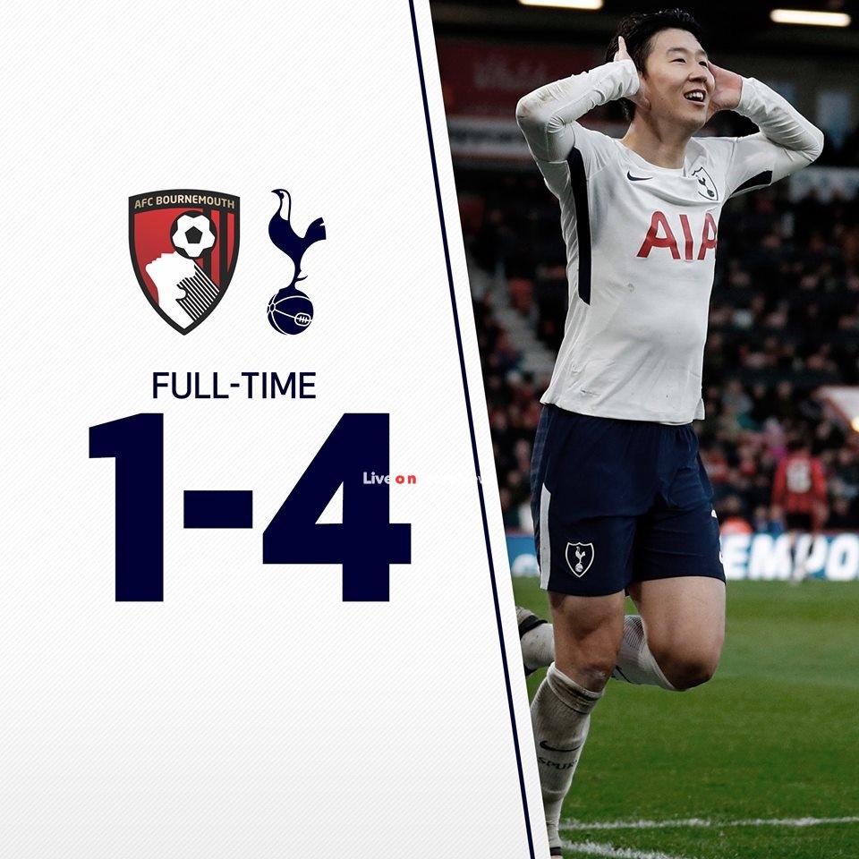 AFC Bournemouth 1-4 Tottenham Hotspur Full Highlight Video