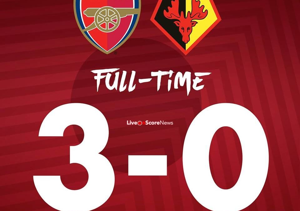 Arsenal 3-0 Watford Full Highlight Video Premier League 2018