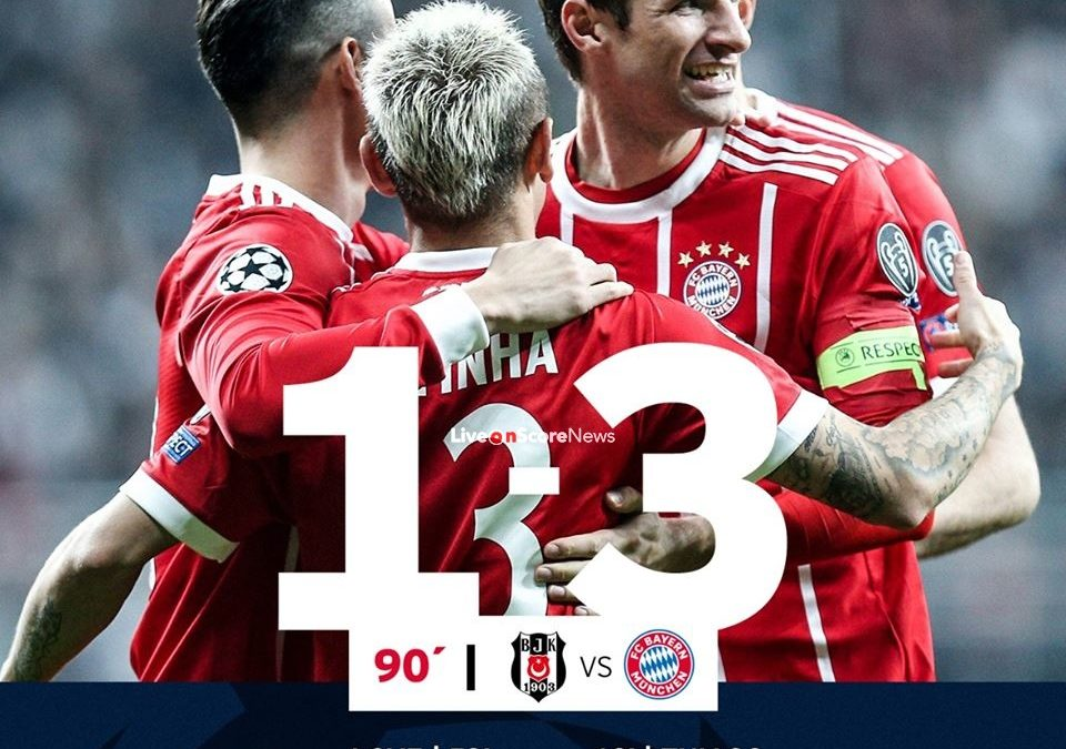 Besiktas 1-3 Bayern Munich Full Highlight Video Uefa Champions League –2018