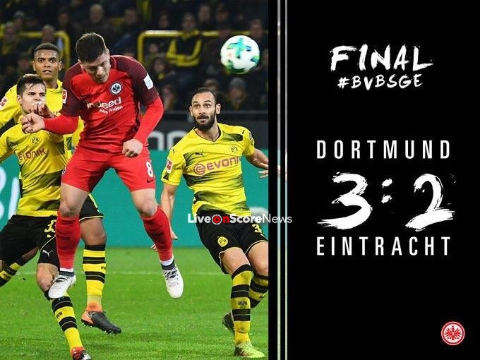 Borussia Dortmund 3-2 Eintracht Frankfurt Full Highlight Video Bundesliga 2018