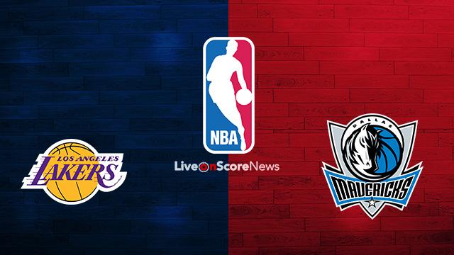 Los Angeles Lakers Vs Dallas Mavericks Previa Predicciones