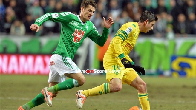 nantes vs st etienne preview and prediction live stream france ligue 1 2018. Black Bedroom Furniture Sets. Home Design Ideas